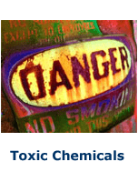 Toxic chemicals in water