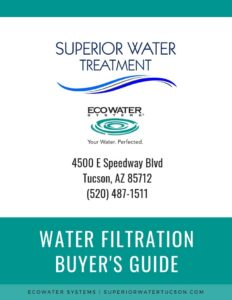 Water Filtration Buyers Guide, EcoWater Systems